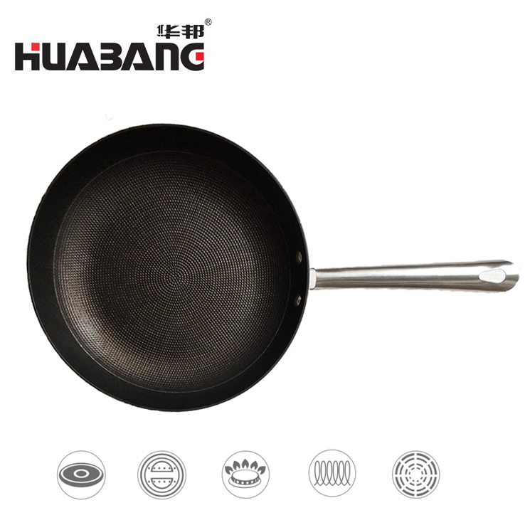 Honeycomb Cast Iron Frypan W series